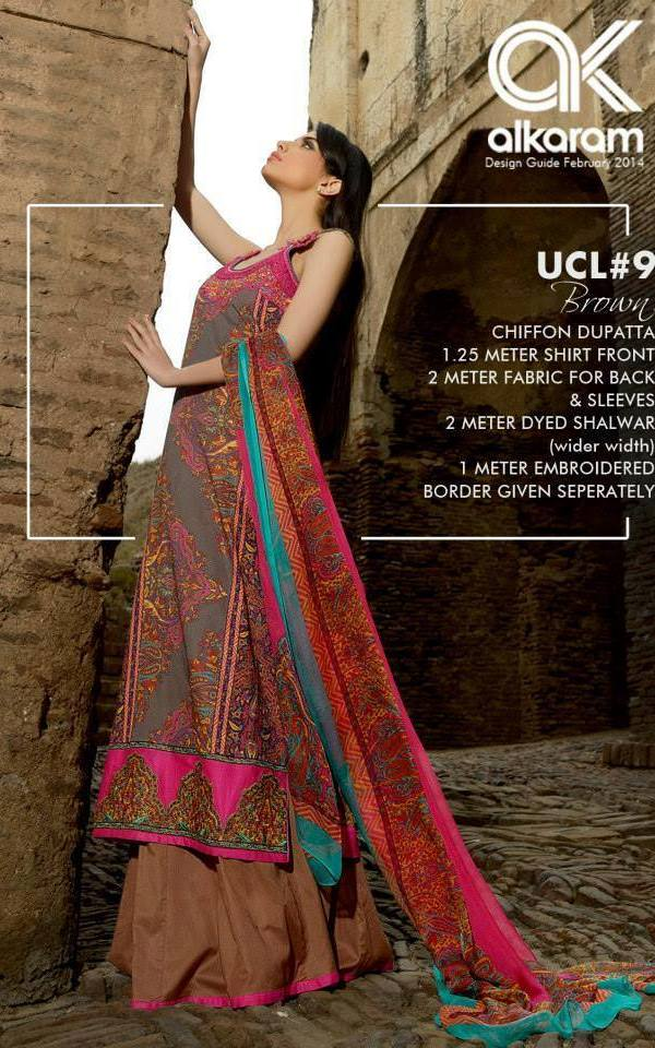 Alkaram Studio Latest Summer Collection With Prices 2014