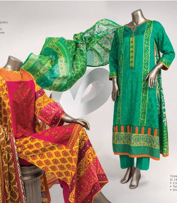 Junaid Jamshed Lawn Prints 2014, Lawn Collection 2014