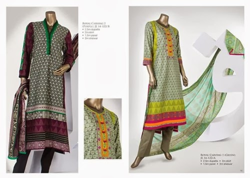 J.teens collection 2014, summer lawn dresses 2014