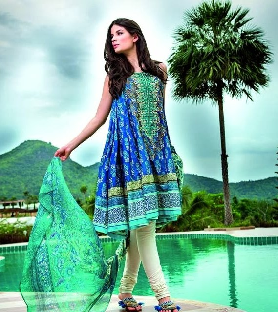 Gul Ahmed Lawn 2014, Gul Ahmed Lawn Collection 2014 Vol-1