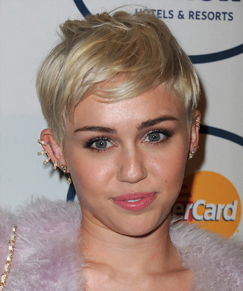 miley cyrus haircut, miley cyrus copper hair