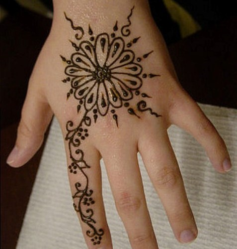 kids mehndi designs for eid, Henna Mehndi Patterns and Designs for Kids