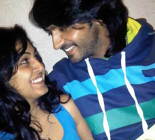 ashish sharma and his wife
