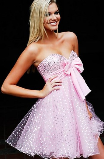 Pink party dresses, girls party dresses