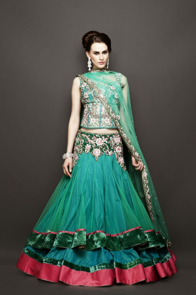 Wedding-Bridesmaid-Brides-Gown-Lehenga-500