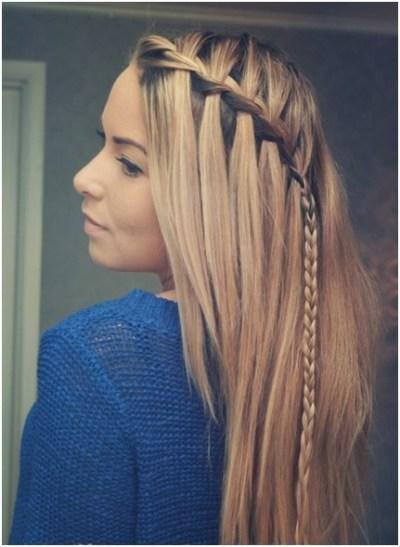 african braids hairstyles, cute braided hairstyles, single braids hairstyles