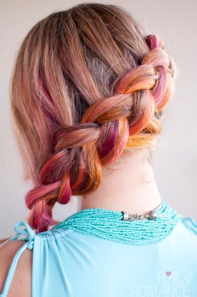 fishtail braid hairstyles