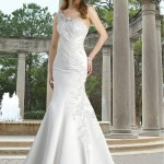 Latest Single Shoulder Strap Bridal Dresses