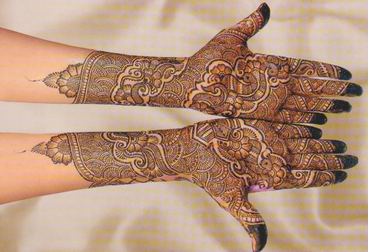 Easy Bridal Mehndi Patterns : Cute and simple mehndi designs for hands