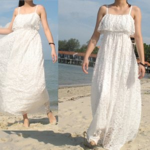 white lace maxi dress, white lace maxi dress