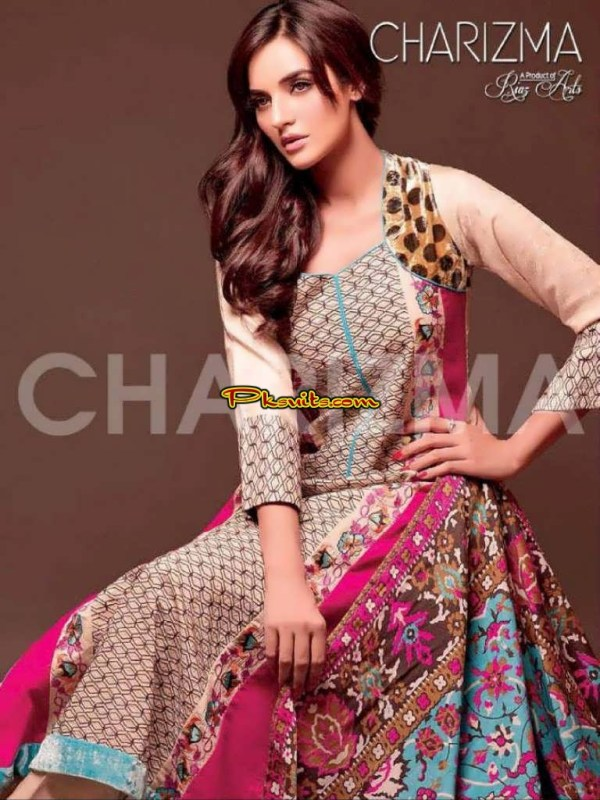 Elegant prints in Latest lawn collection by Charizma