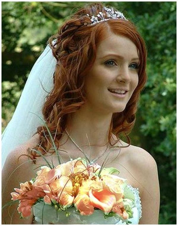 Wedding Hairstyles with Veil for Long Hair – Lovely & Marvelous