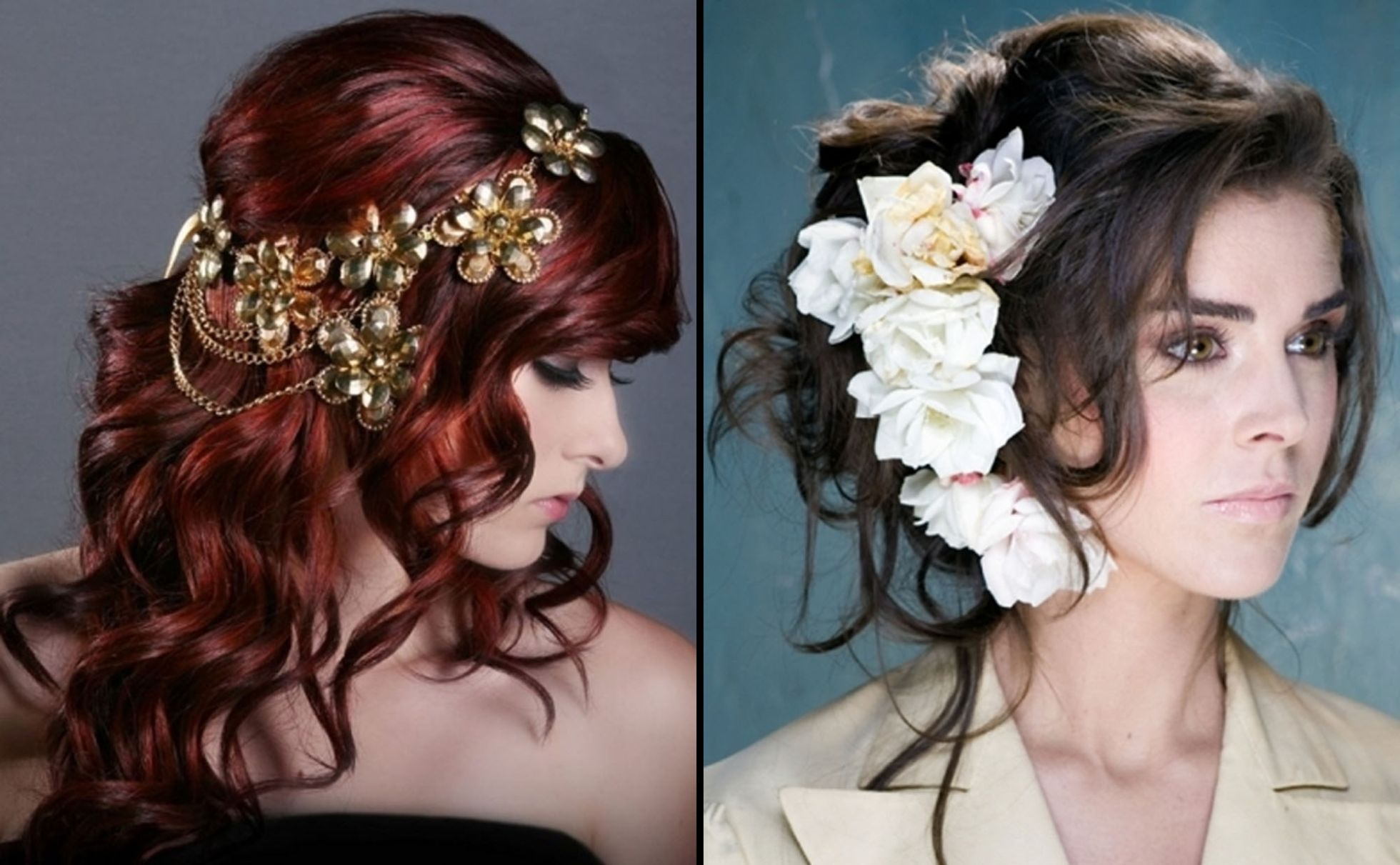 stylish wedding & party wear hairstyles 109