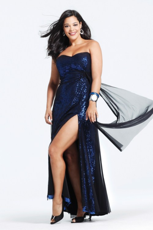 Plus Size Party Dresses For Women 2015