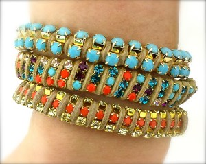 The perfect way to wear bracelets