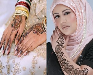 Latest Arabic Mehndi Designs For Girls