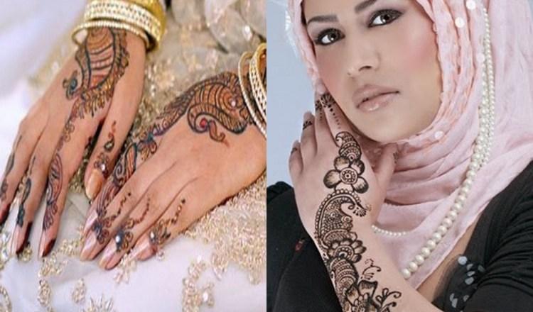 Latest Arabic Mehndi Designs For Girls