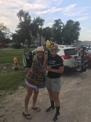 Photo op with a free state lady and a hat....
