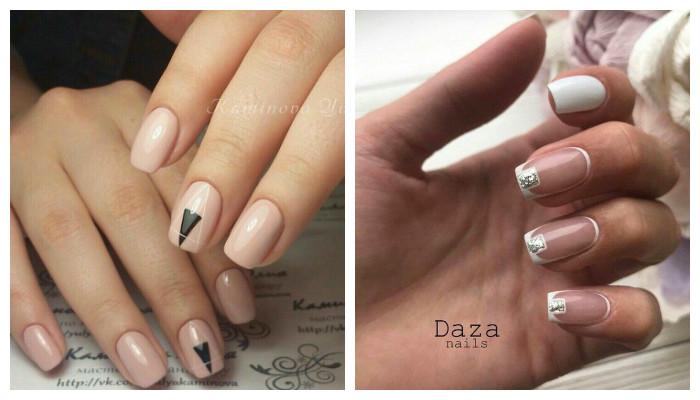 дизайн ногтей минимализм 1