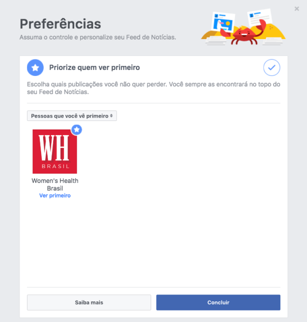 facebook womens health brasil passo 4