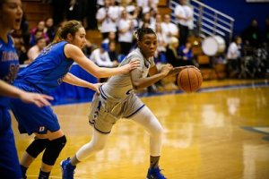 Junior college transfer Tiffany Jones has become a formidable force for the Pirates. Photo courtesy of Seton Hall Athletics.