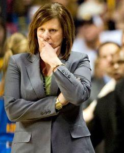 Cori Close is in her fifth season as UCLA head coach. Photo by ASUCLA.