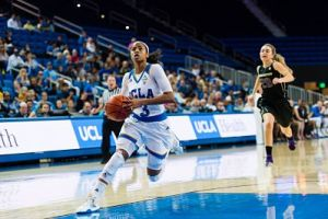 Jordin Canada is averaging 15.9 points, 6.4 assists and 4.2 rebounds per game this season. Photo by Percy Anderson.