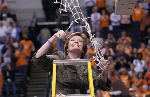 NASHVILLE, TN March 4, 2012: Tennessee defeats LSU 70-58 to win a third consecutive SEC Championship at Bridgestone Arena in Nashville, Tennessee.