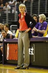 Carol Ross was named WNBA coach of the year in 2012, and was fired by the Sparks two years later. Photo by TGSportstv1.