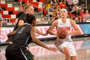 New Zealand import Tessa Boagni has been a solid presence for the Matadors in her three years with the program. Photo courtesy of CSUN Athletics.