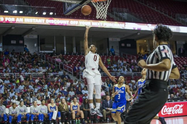 Temple's Alliya Butts. Photo courtesy of Temple Athletics.