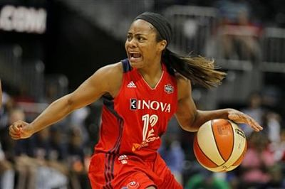 Ivory Latta has always been known for passionate play. Photo courtesy of Washington Mystics/NBAE/Getty Images.