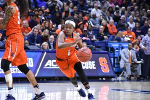 Alexis Peterson was the ACC player of the year. Photo courtesy of Syracuse Athletic Communications.