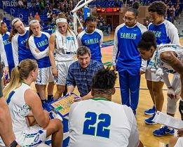 Karl Smesko is the only women's basketball coach Florida Gulf Coast University has ever had. Photo courtesy of FGCU Athletics.