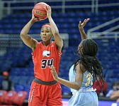 Chyna Ellis has become one of South Alabama's most decorated players in her four-year career. Photo by Scott Donaldson photography.