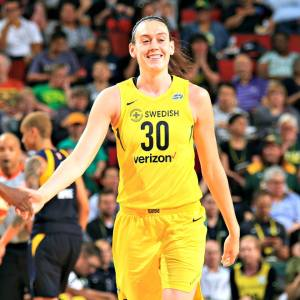 2018 WNBA MVP Breanna Stewart had a dominating season. Neil Enns/Storm Photos.