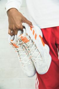 This is the third player edition shoe Adidas has released under Candace Parker's name. Photo courtesy of Adidas.