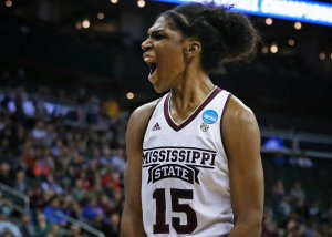 Teaira McCowan has been an efficient scorer for Mississippi State. SEC photo.