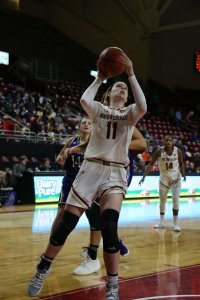 Junior forward Emma Guy. Photo courtesy of Boston College Athletics.