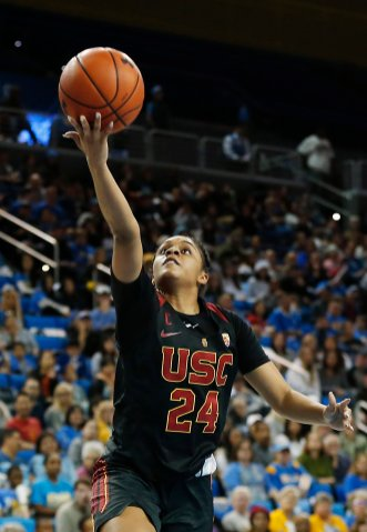 Desiree Caldwell lays it up and in. Maria Noble/WomensHoopsWorld