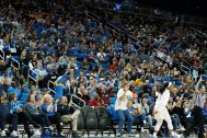 Pauley Pavilion was sold out for the match up with USC. Maria Noble/WomensHoopsWorld