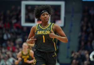 NaLyssa Smith has stepped up into a starting role for Baylor this year. David Butler II photo.