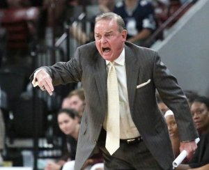 Vic Schaefer spent the last eight years building Mississippi State into an elite powerhouse program. Jim Lytle photo.