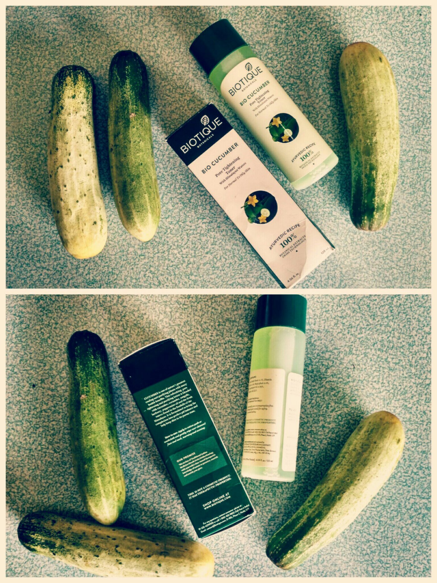 Biotique Cucumber Pore Tightening Toner