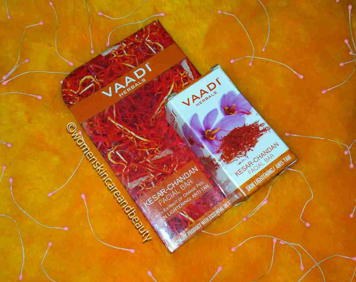 Vaadi Herbals Kesar Chandan Facial Bar Review