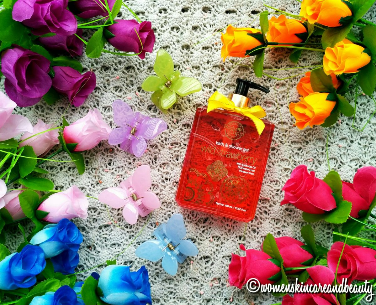 Body Cupid Bath & Shower Gel Review - Wild Strawberry