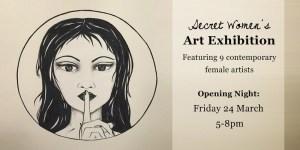 Secret Women's Art @ PLATFORM72 | St Leonards | New South Wales | Australia