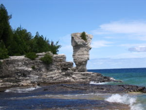 Flowerpot Island, Georgian Bay.