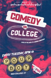 Comedy on College. Provided by Heather MacDonald.