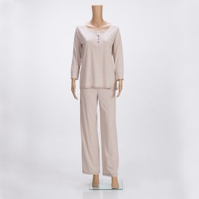 Scoop-neck-Pajama-Set